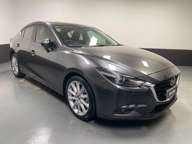 Used Mazda 3 BN5238 SP25 SKYACTIV-Drive Hamilton, 2018 Mazda 3 BN5238 SP25 SKYACTIV-Drive Grey 6 Speed Sports Automatic Sedan