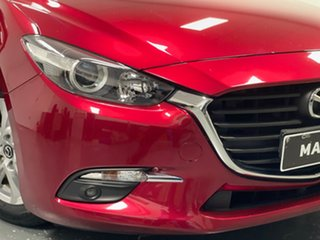 2018 Mazda 3 BN5478 Maxx SKYACTIV-Drive Sport Red 6 Speed Sports Automatic Hatchback
