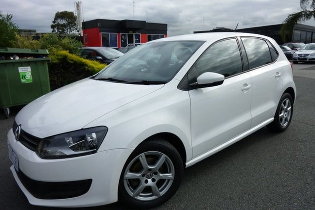 Used Volkswagen Polo 6R MY11 66TDI DSG Comfortline Cheltenham, 2011 Volkswagen Polo 6R MY11 66TDI DSG Comfortline White 7 Speed Sports Automatic Dual Clutch