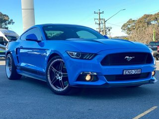 2017 Ford Mustang GT Blue Sports Automatic Fastback.