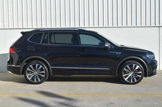 2020 Volkswagen Tiguan 5N MY21 162TSI Highline DSG 4MOTION Allspace Black 7 Speed.