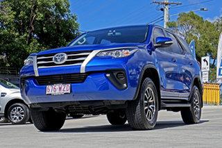2016 Toyota Fortuner GUN156R GX Blue 6 Speed Automatic Wagon
