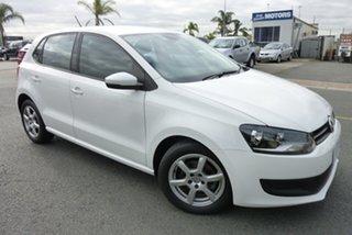 2011 Volkswagen Polo 6R MY11 66TDI DSG Comfortline White 7 Speed Sports Automatic Dual Clutch.