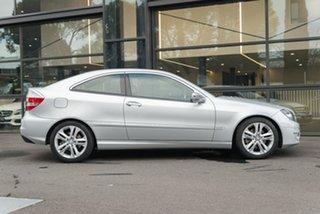 2008 Mercedes-Benz CLC-Class CL203 CLC200 Kompressor Silver 5 Speed Automatic Coupe