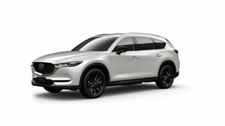 2021 Mazda CX-8 KG2WLA Touring SKYACTIV-Drive FWD SP White 6 Speed Sports Automatic Wagon