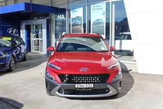 2021 Hyundai Kona Os.v4 MY21 Elite 2WD Pulse Red 8 Speed Constant Variable Wagon.