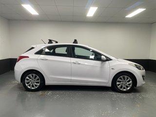 2014 Hyundai i30 GD2 Active White 6 Speed Manual Hatchback