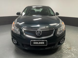 2014 Holden Cruze JH Series II MY14 Equipe Dark Green 5 Speed Manual Sedan.