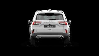 2021 Ford Escape ZH 2021.25MY Frozen White 8 Speed Sports Automatic SUV