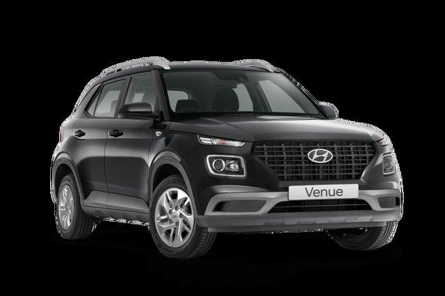 New Hyundai Venue QX.V3 MY21 Hamilton, 2021 Hyundai Venue QX.V3 MY21 Cosmic Grey 6 Speed Automatic Wagon