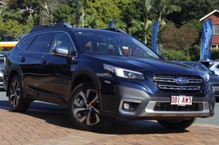2020 Subaru Outback B7A MY21 AWD Touring CVT Dark Blue 8 Speed Constant Variable Wagon.