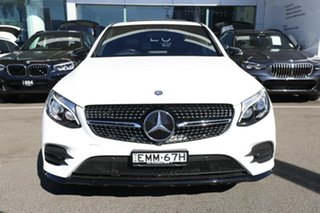2016 Mercedes-Benz GLC250 253 MY17 Polar White 9 Speed Automatic G-Tronic Coupe