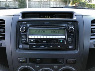 2010 Toyota Hilux GGN15R MY10 SR 4x2 Silver 5 Speed Automatic Cab Chassis
