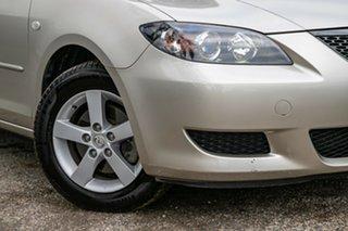 2005 Mazda 3 BK10F1 Maxx Gold 4 Speed Sports Automatic Sedan.