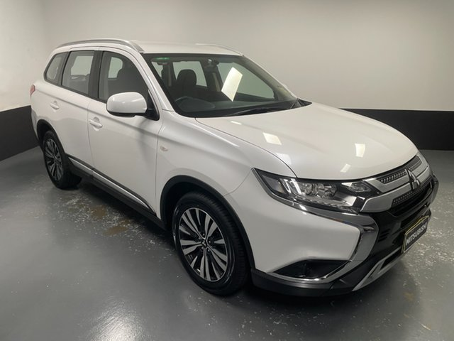 Used Mitsubishi Outlander ZL MY18.5 ES AWD Rutherford, 2018 Mitsubishi Outlander ZL MY18.5 ES AWD White 6 Speed Constant Variable Wagon