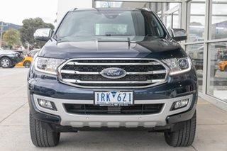 2020 Ford Everest UA II 2020.25MY Titanium Blue 10 Speed Sports Automatic SUV.