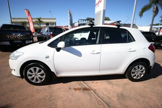 2009 Toyota Corolla ZRE152R MY09 Ascent White 4 Speed Automatic Hatchback