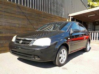 2008 Holden Viva JF MY09 Black 4 Speed Automatic Sedan