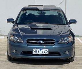 2004 Subaru Liberty B4 MY04 GT AWD Premium Pack Blue 5 Speed Sports Automatic Sedan.