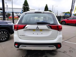 2021 Mitsubishi Outlander ZL MY21 ES 2WD White Solid 5 Speed Manual Wagon.