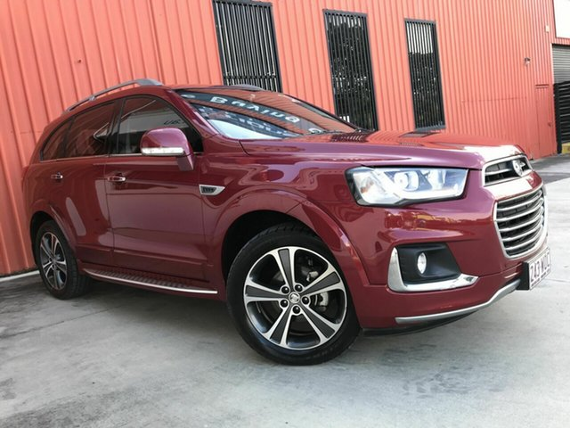 Used Holden Captiva CG MY16 LTZ AWD Molendinar, 2016 Holden Captiva CG MY16 LTZ AWD Maroon 6 Speed Sports Automatic Wagon