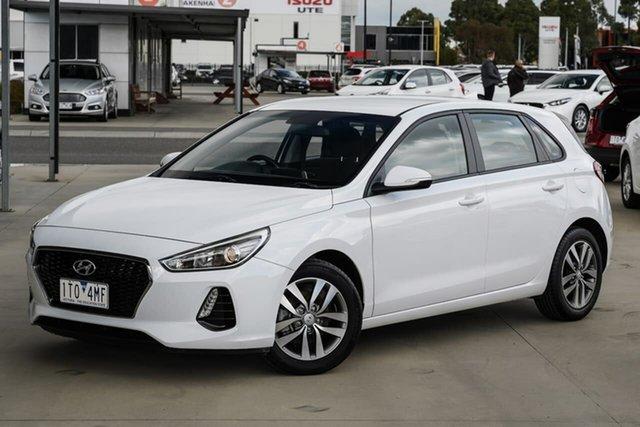 Used Hyundai i30 PD MY18 Active Pakenham, 2018 Hyundai i30 PD MY18 Active White 6 Speed Sports Automatic Hatchback
