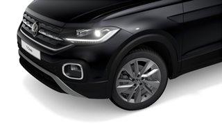 2020 Volkswagen T-Cross C1 85TSI Style Deep Black Pearl Effect 7 Speed Semi Auto SUV