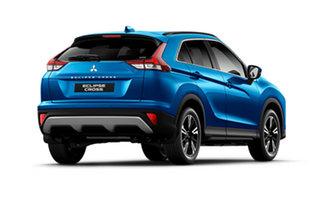 2020 Mitsubishi Eclipse Cross YB MY21 LS AWD Lightning Blue 8 Speed Constant Variable Wagon.