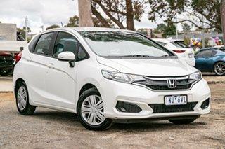 2018 Honda Jazz GF MY19 VTi White 1 Speed Constant Variable Hatchback.