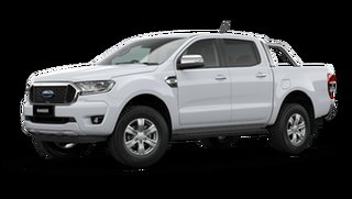 2021 Ford Ranger PX MkIII XLT Double Cab Arctic White 6 Speed Automatic