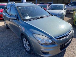 2010 Hyundai i30 FD MY11 SX cw Wagon Grey 5 Speed Manual Wagon.