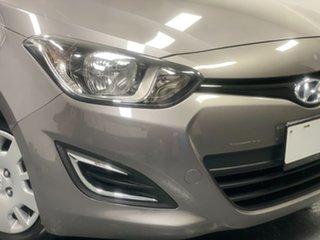 2013 Hyundai i20 PB MY13 Active Grey 6 Speed Manual Hatchback.