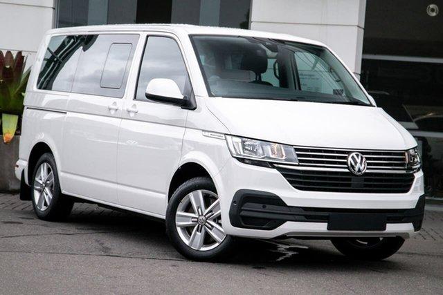 New Volkswagen Multivan T6.1 MY21 TDI340 SWB DSG Comfortline Premium Botany, 2021 Volkswagen Multivan T6.1 MY21 TDI340 SWB DSG Comfortline Premium White 7 Speed