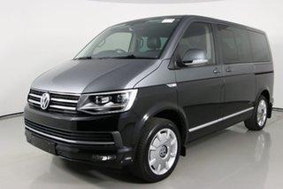 2018 Volkswagen Multivan T6 MY18 Kombi 70 TDI340 Special ED Black 7 Speed Auto Direct Shift Wagon.