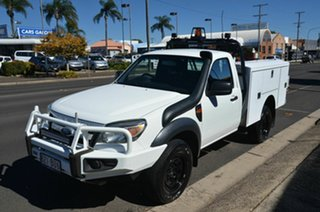 2010 Ford Ranger PK XL (4x4) White 5 Speed Manual Cab Chassis