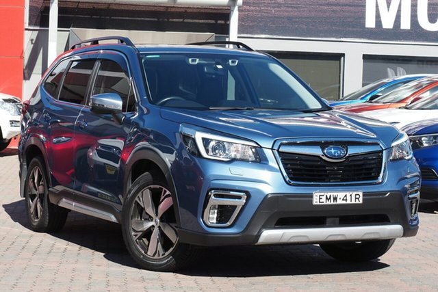 Used Subaru Forester S5 MY19 2.5i-S CVT AWD Parramatta, 2019 Subaru Forester S5 MY19 2.5i-S CVT AWD Blue 7 Speed Constant Variable Wagon