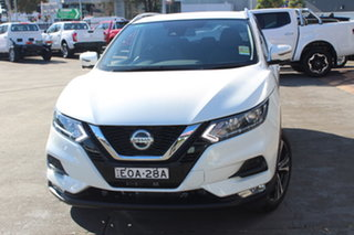 2019 Nissan Qashqai J11 Series 3 MY20 ST-L X-tronic Ivory Pearl 1 Speed Constant Variable Wagon