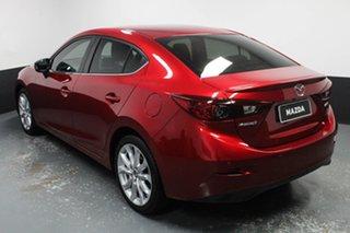 2016 Mazda 3 BM5238 SP25 SKYACTIV-Drive Red 6 Speed Sports Automatic Sedan
