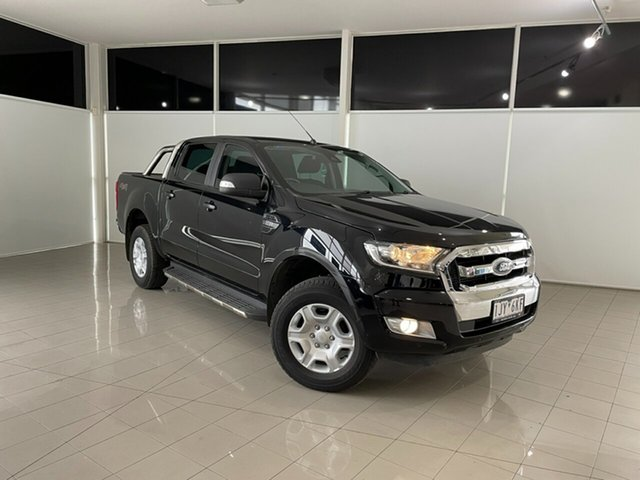 Used Ford Ranger PX MkII XLT Double Cab Deer Park, 2017 Ford Ranger PX MkII XLT Double Cab Black 6 Speed Sports Automatic Utility