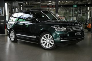 2017 Land Rover Range Rover L405 18MY Vogue Green 8 Speed Sports Automatic Wagon.