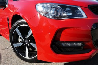 2016 Holden Commodore VF II MY16 SS Black Red Hot 6 Speed Sports Automatic Sedan.