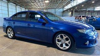 2008 Ford Falcon FG XR6 Turbo Blue 6 Speed Manual Sedan.