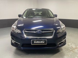 2016 Subaru Impreza G4 MY16 2.0i Lineartronic AWD Premium Blue 6 Speed Constant Variable Hatchback.