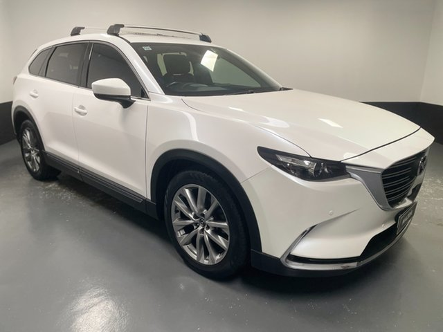 Used Mazda CX-9 TC GT SKYACTIV-Drive Hamilton, 2016 Mazda CX-9 TC GT SKYACTIV-Drive White Pearl 6 Speed Sports Automatic Wagon