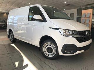 2020 Volkswagen Transporter T6 SWB Crewvan Candy White 7 Speed Semi Auto Van.