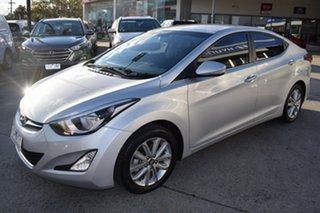 2015 Hyundai Elantra MD3 SE Billet Silver 6 Speed Sports Automatic Sedan.
