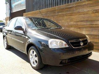 2008 Holden Viva JF MY09 Black 4 Speed Automatic Sedan.