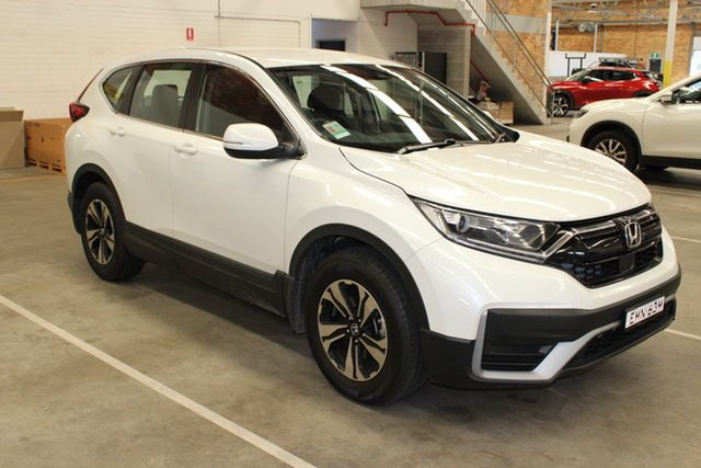 Demo Honda CR-V RW MY20 VTi FWD Cardiff, 2020 Honda CR-V RW MY20 VTi FWD Platinum White 1 Speed Constant Variable Wagon