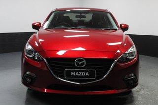 2016 Mazda 3 BM5238 SP25 SKYACTIV-Drive Red 6 Speed Sports Automatic Sedan.