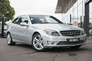 2008 Mercedes-Benz CLC-Class CL203 CLC200 Kompressor Silver 5 Speed Automatic Coupe.